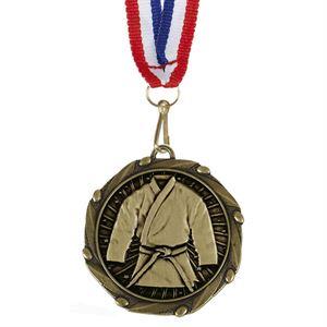 Combo Martial Arts Medal & Ribbon