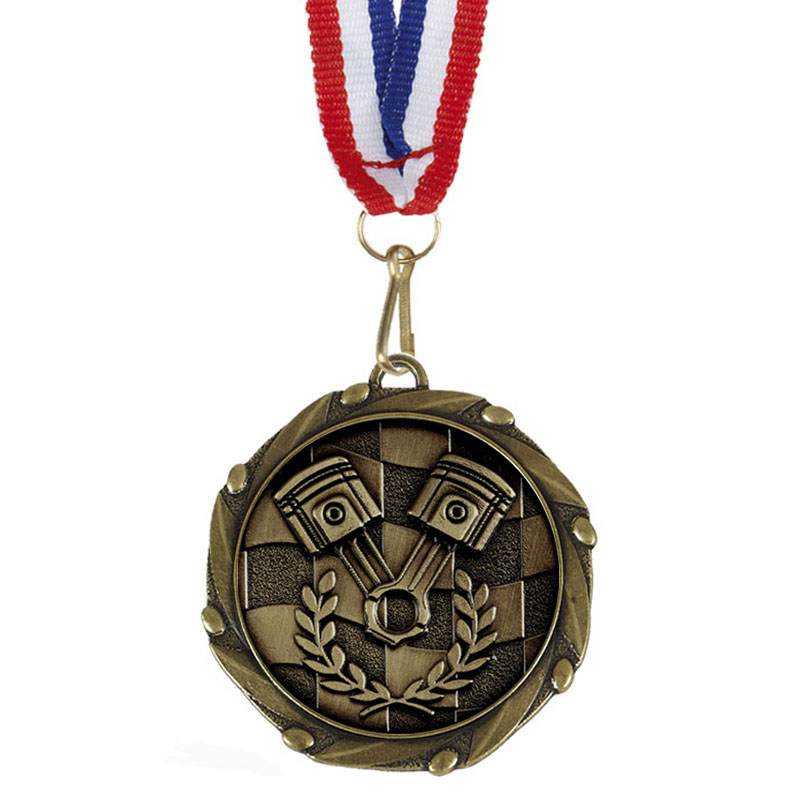Combo Motorsports Medal & Ribbon (size: 45mm) - AM1157.12