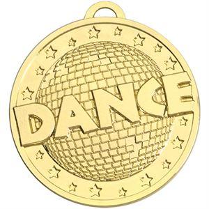 Gold Target Dance Medal (size:45mm) - AM1163.01