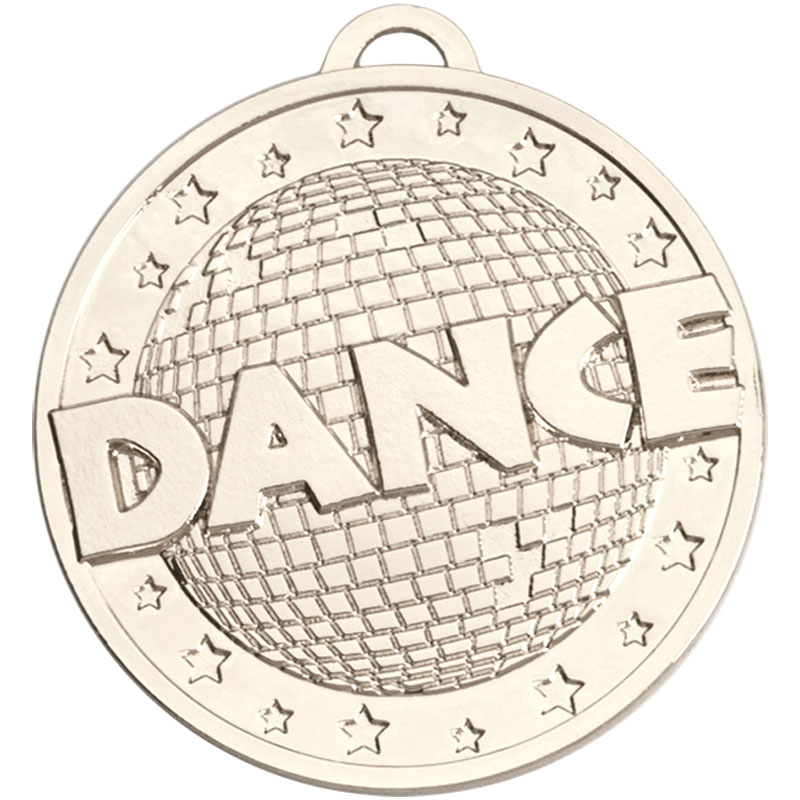 Silver Target Dance Medal (size:45mm) - AM1163.02