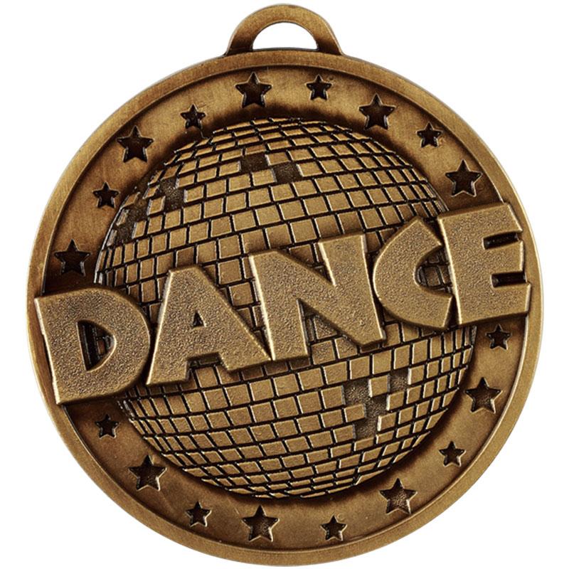 Bronze Target Dance Medal (size:45mm) - AM1163.12