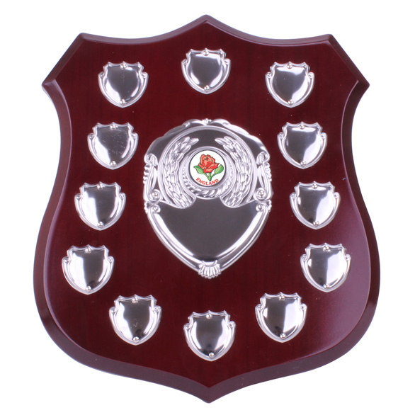 Illustrious Mahogany Annual Shield - SH8002B