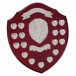 Supreme Rosewood Annual Shield Template - SH4000