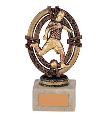 Maverick Legend Football Player Trophy Bronze Small - TH16009B