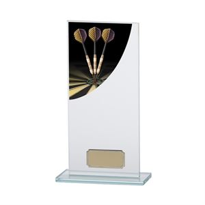 Colour Curve Glass Darts Trophy - CR4608