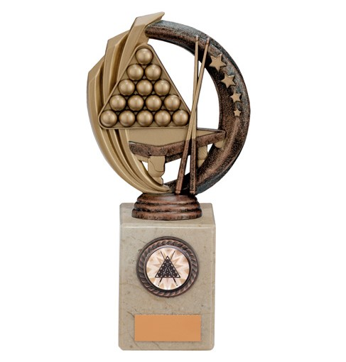 Renegade Legend Snooker Trophy Antique Bronze - TH17261D