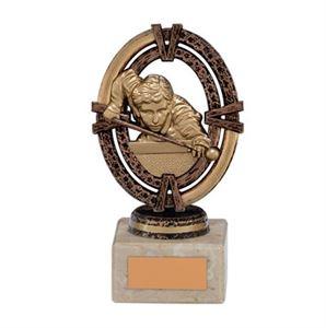 Maverick Legend Snooker Trophy Bronze Small - TH16019B