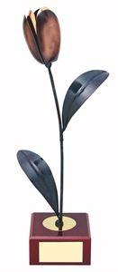Tulip Handmade Metal Trophy - 291
