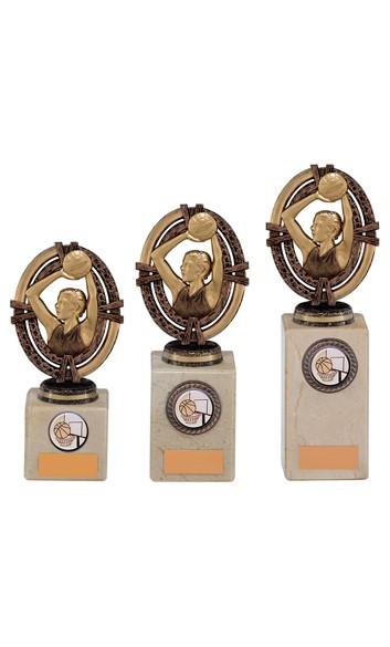 Maverick Legend Netball Trophy Bronze Small 3 sizes - TH16017