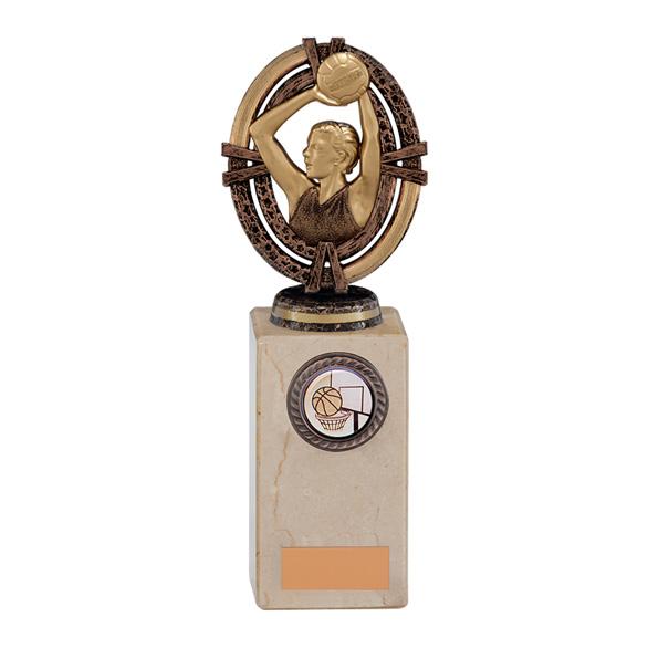 Maverick Legend Netball Trophy Bronze Small - TH16017