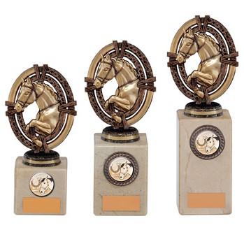 Maverick Legend Equestrian Trophy Bronze in 3 sizes - TH16013
