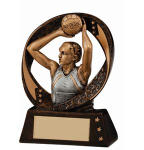 Typhoon Netball Trophy Small - RF16095A