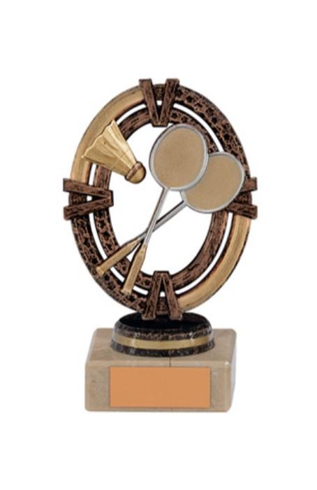Maverick Legend Badminton Trophy - Bronze Small- TH16001A