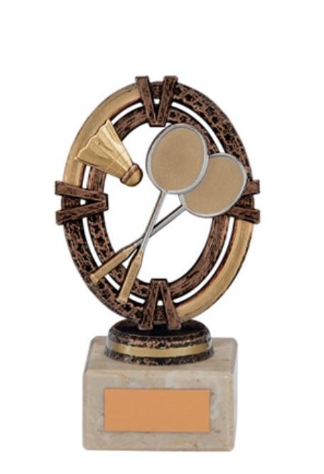 Maverick Legend Badminton Trophy - Bronze Small- TH16001B