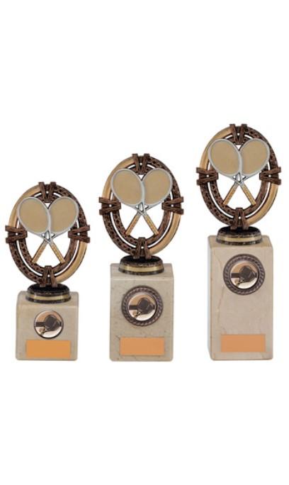 Maverick Legend Tennis Trophy Bronze 3 sizes - TH16021