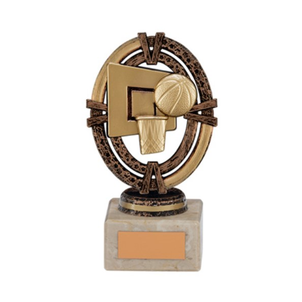 Maverick Legend Basketball Trophy Bronze Small - TH16002B