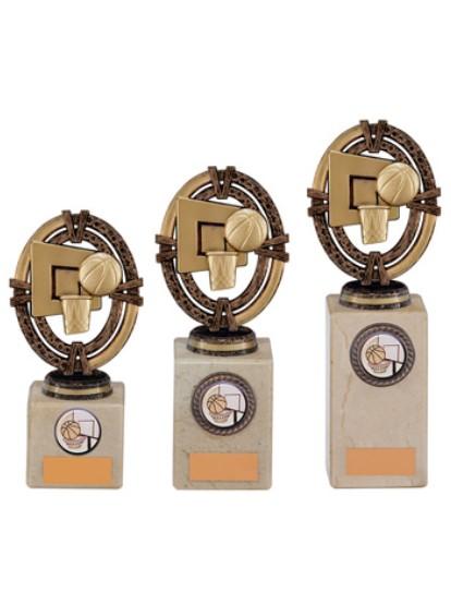 Maverick Legend Basketball Trophy Bronze 3 sizes - TH16002