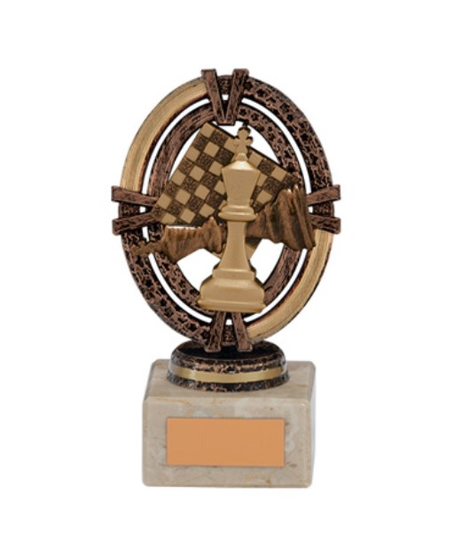 Maverick Legend Chess Trophy Bronze Small- TH16004B