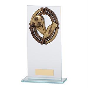Maverick Legacy Glass Football Trophy - CR16010