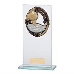 Maverick Legacy Glass Golf Trophy Bronze - CR16011
