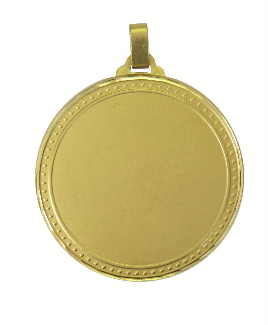 Gold Faceted Elementary Medal (size: 60mm) - 5411F