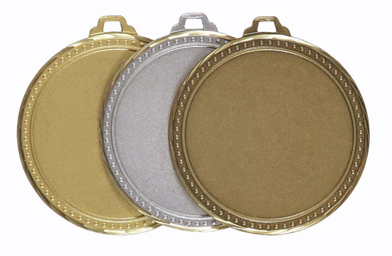 Faceted Elementary Medal (size: 60mm) - 5411F
