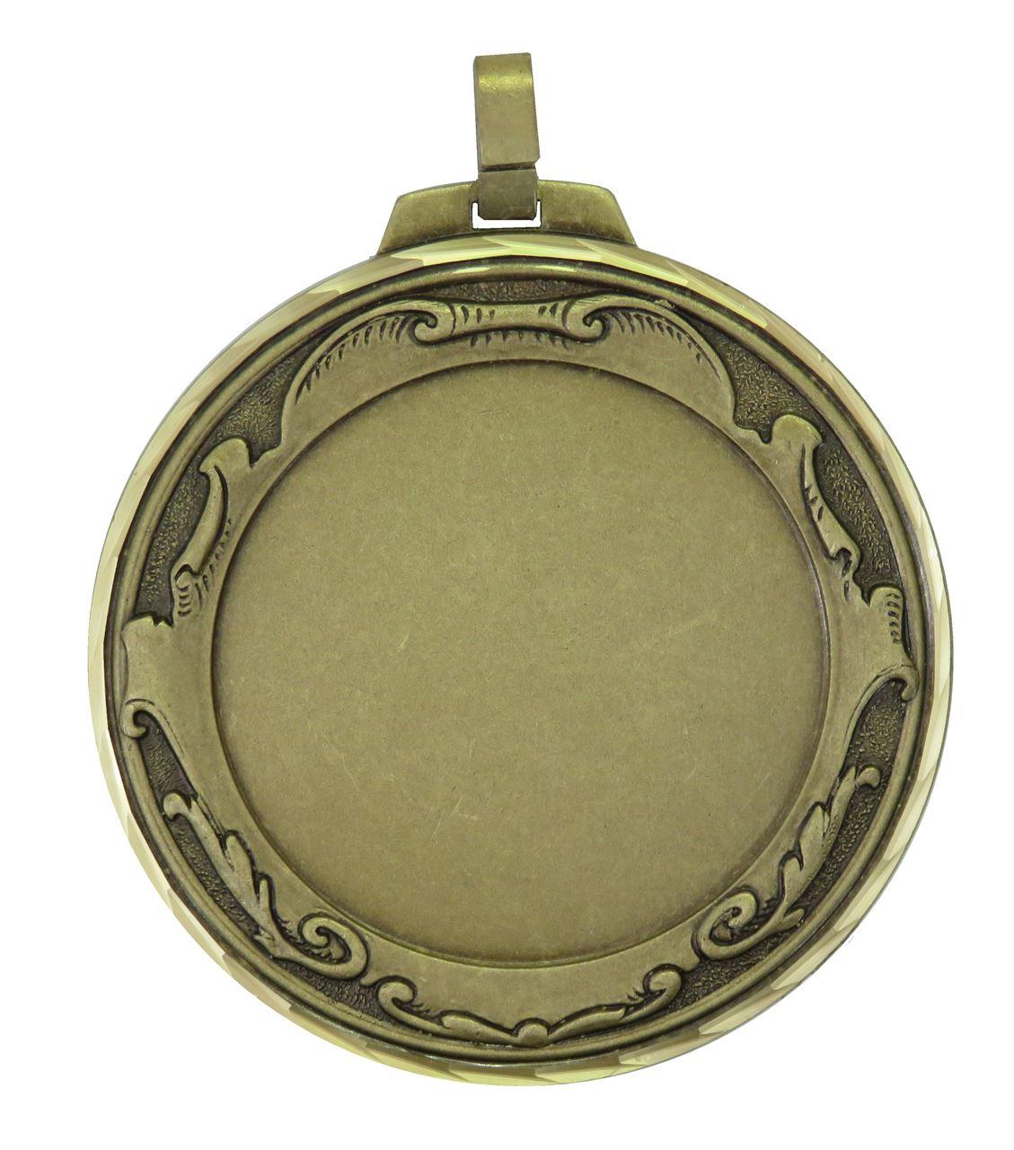 Broze Faceted Royal Medal (size: 70mm) - 6005FL