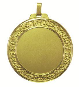 Gold Faceted Vine Medal (size: 60mm and 70mm) - 5550FL