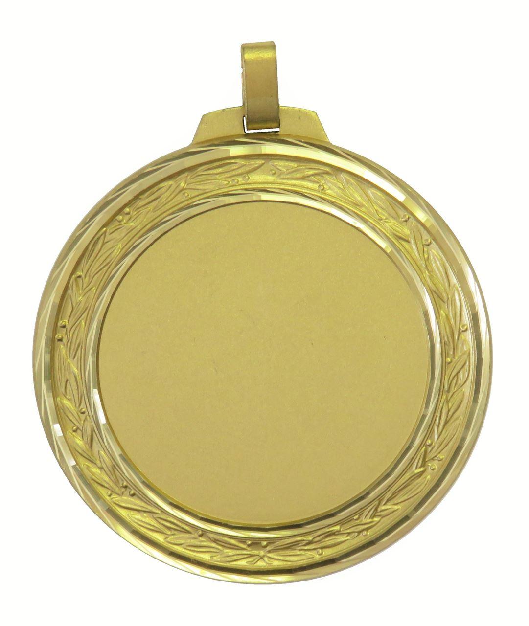 Gold Faceted Laurel Medal (size: 60mm and 70mm) - 5500FL