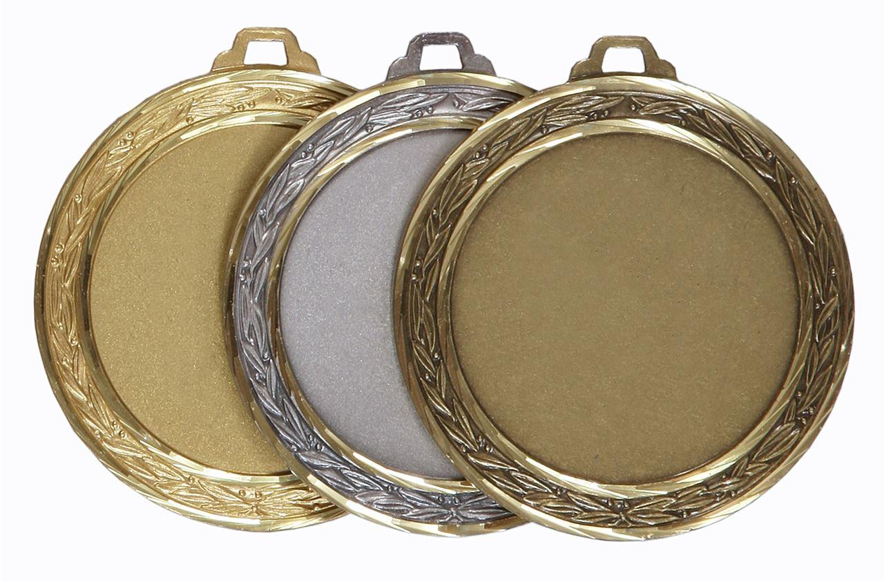 Faceted Laurel Medal - 5500FL