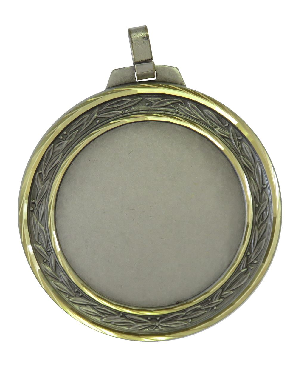 Silver Faceted Laurel Medal (size: 60mm and 70mm) - 5500FL
