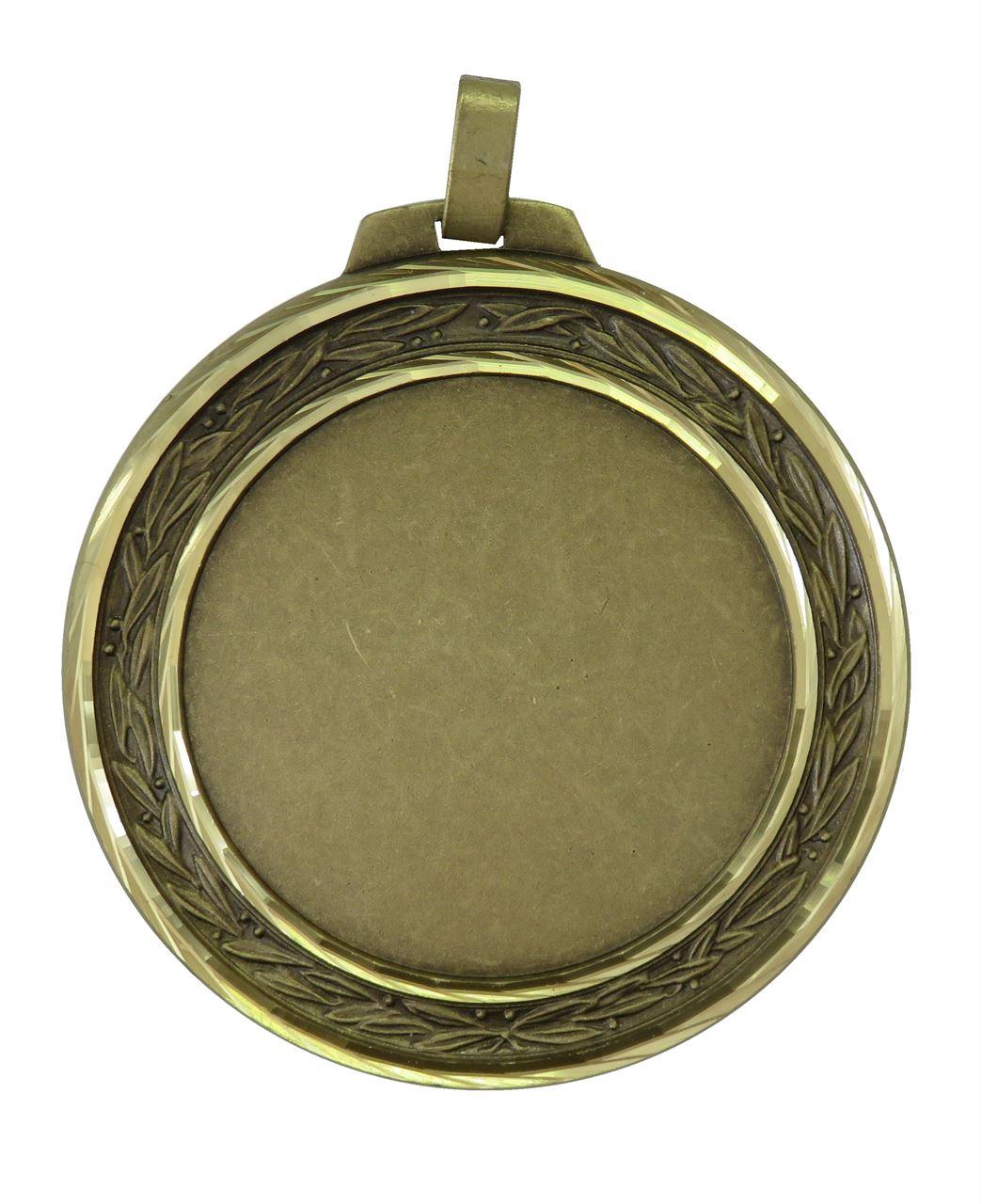 Bronze Faceted Laurel Medal (size: 60mm and 70mm) - 5500FL