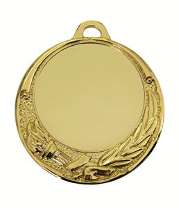 Gold Quality Victory Torch Medal (size: 70mm) - 65509EL