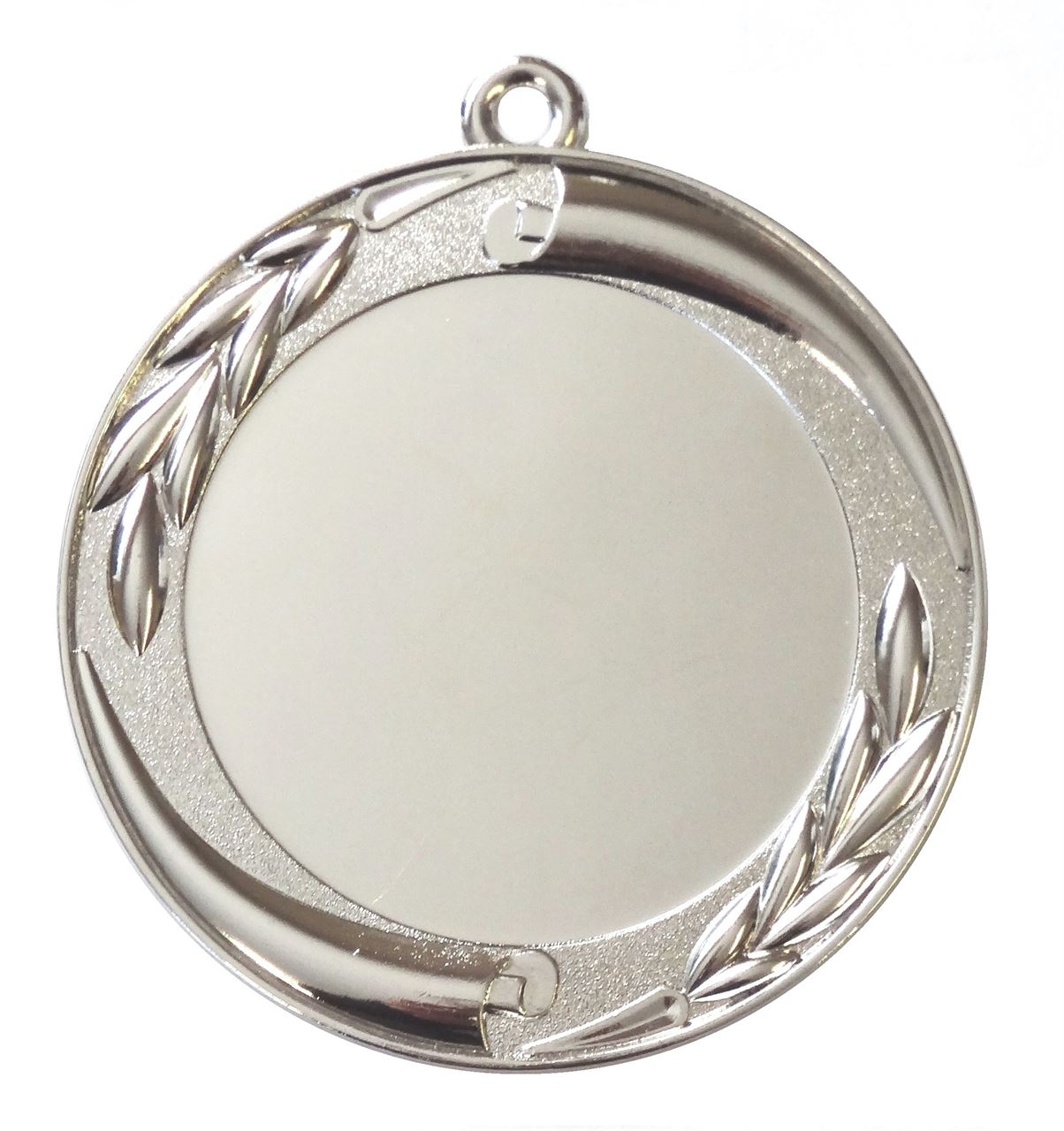 Silver Quality Scroll and Laurel Medal (size: 70mm) - MD35E