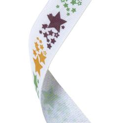 G-MR065 - Coloured Stars Medal Ribbon