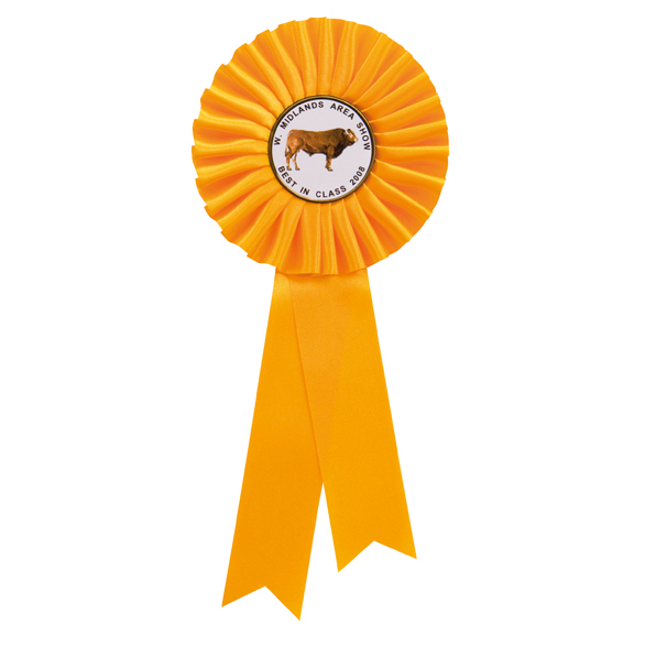 Champion Yellow Rosette - CL-RO7260A