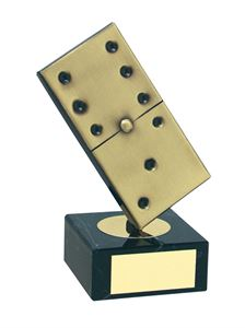 Domino Handmade Metal Trophy - 430