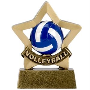 Mini Star Volleyball Trophy