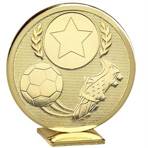 Global Football Boot & Ball Trophy Gold- GB014