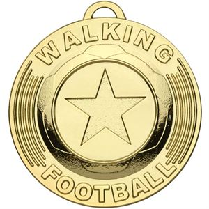 Target Walking Football Medal - AM1165 Gold