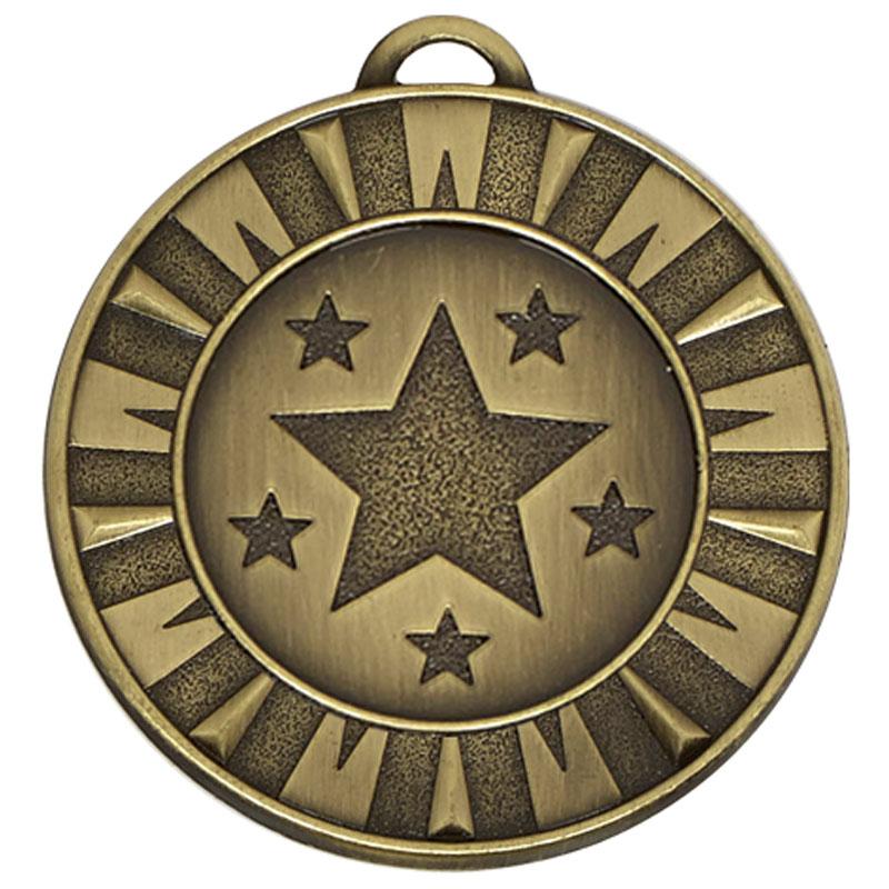 Target Flash Medal - AM941B Bronze