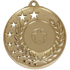 San Francisco Medal - AM501G Gold