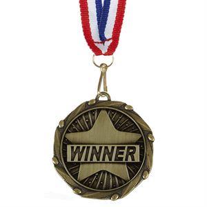 Combo Winner Medal & Ribbon - AM1152.12