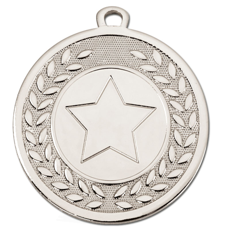 Silver Galaxy 1 Centre Medal - AM10350.02