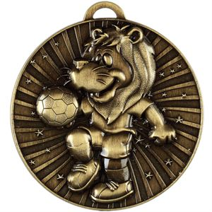 Lenny the Lion Football Medal - AM1159.12