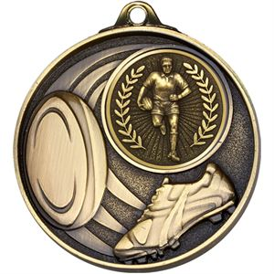 Stadium Rugby Medal - AM1506.12