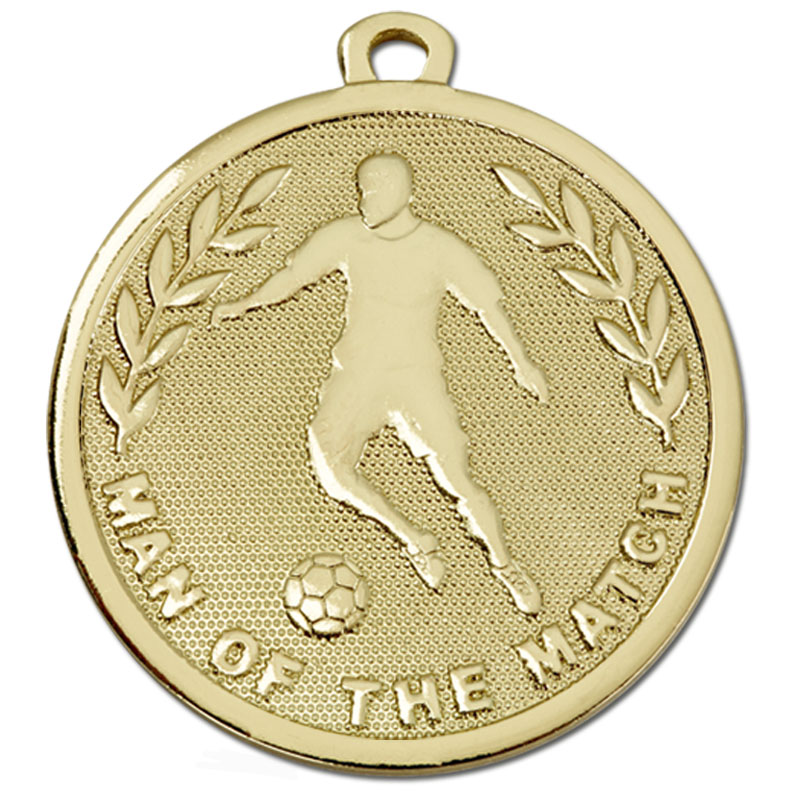 Gold Galaxy Man of the Match Medal - AM1036.01