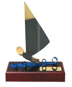 Sailing Handmade Metal Trophy - 300 VE