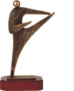 Martial Arts Pewter Trophy - BEL230