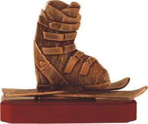 Skiing Pewter Trophy - BEL226